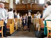 Der Gottesdienst zum 50-jährigen Bestehen der Ev. Jugendhilfe Menden in der Hl. Geist-Kirche beginnt.