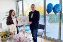 Dr. Richard Müller-Schlotmann wird nach 21 Jahre als Fachbereichsleiter der Pflegekinderhilfe verabschiedet.