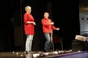 Das Impro-Theater war wieder ein Garant für viele Lacher und beste Unterhaltung.