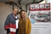 Herzlich Willkommen sagt das Begrüßungskomitee mit Christiane Finke und Anke Mariotti ganz persönlich.