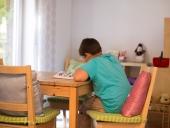 Unser Spiel- und Hausaufgabenzimmer