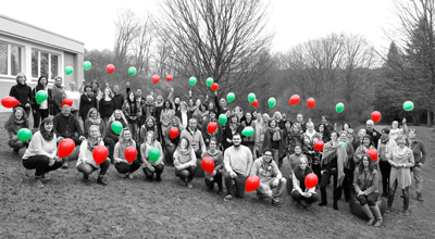 Team der Stiftung Ev. Jugendhilfe Menden 2016
