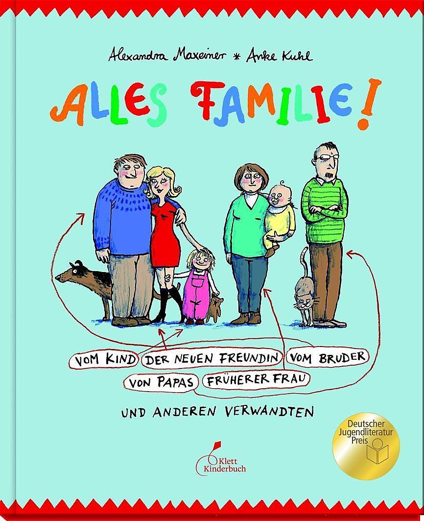 Cover Alles Familie! Alexandra Maxeiner, Anke Kuhl