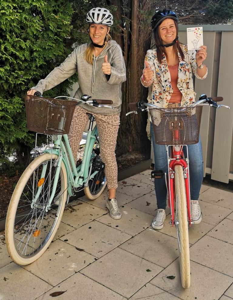 Dienstfahhräder für die Stuftung Ev. Jugendhilfe menden